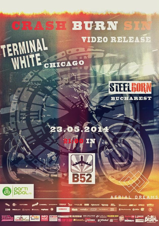 Terminal White Steelborn